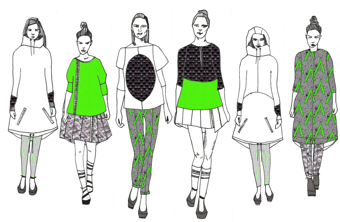 MY FASHION ILLUSTRATIONS
