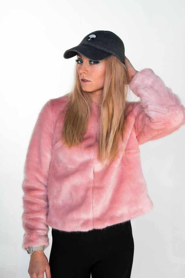 stef pink fluffy